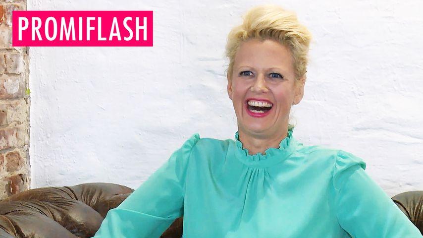 Frau Schöneberger lacht Body-Kritik weg