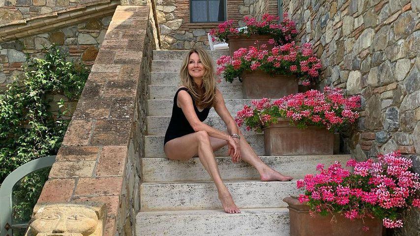 Im Badeanzug: Frauke Ludowig verzaubert Fans mit Foto