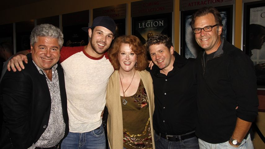 """Fred Caruso (2. v. r.) beim """"The Big Gay Musical""""-Screening"""