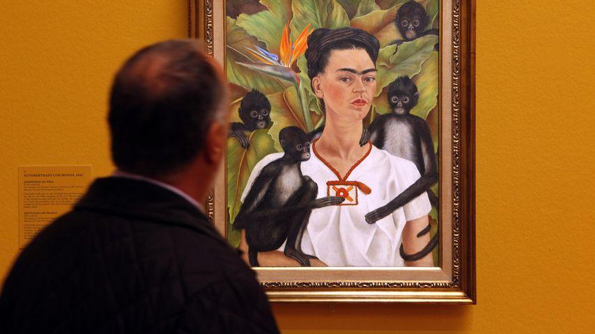"""Frida Kahlos """"Selbstportrait mit Affen"""""""