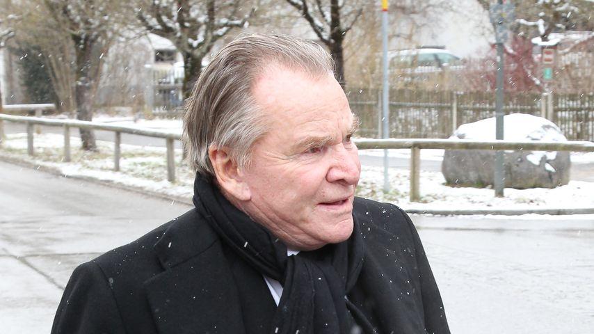 Fritz Wepper in Habach, März 2018