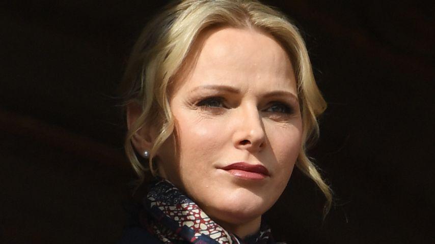 Fürstin Charlène im Januar 2020 in Monaco