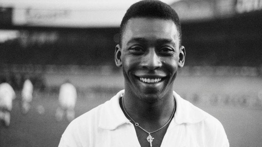 Fußballer Pelé 1970