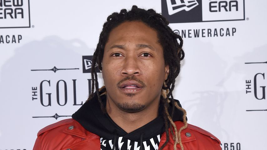 Future bei der  New Era Super-Bowl-Party