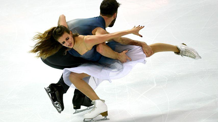 Gabriella Papadakis und Guillaume Cizeron, Eiskunstläufer