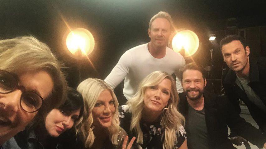 "Es geht los! Große Reunion am ""Beverly Hills, 90210""-Set!"