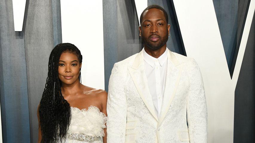 Gabrielle Union und Dwayne Wade auf der Vanity Fair Oscar Party 2020