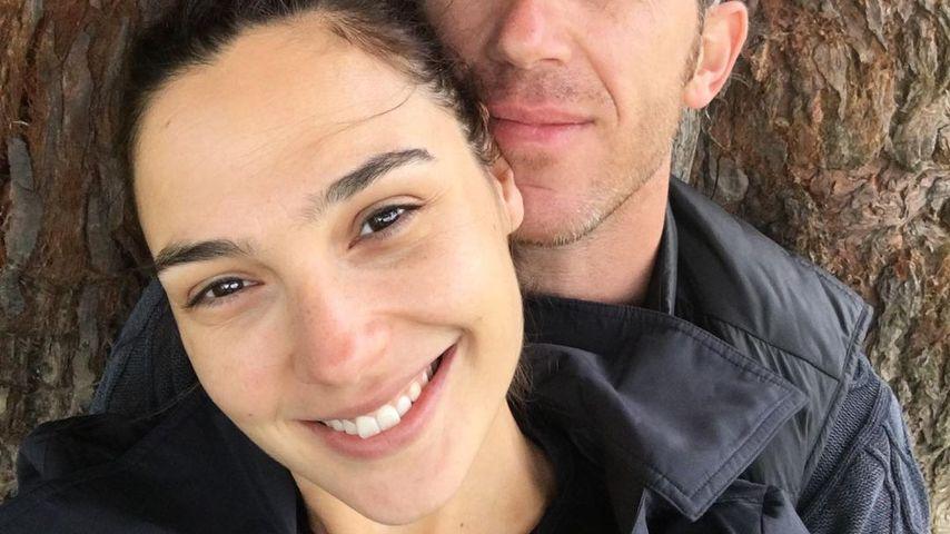 Schauspielerin Gal Gadot und ihr Ehemann Jaron Varsano,
