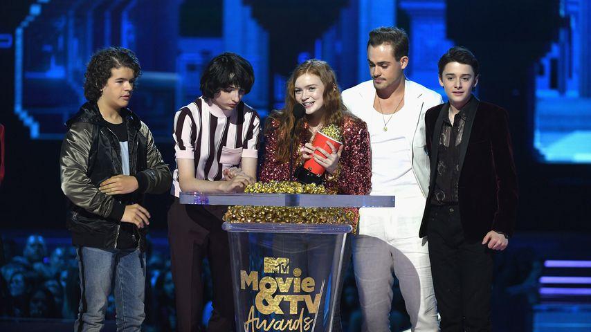 Mtv Movie Tv Awards Stranger Things Räumt Wieder Ab Promiflashde