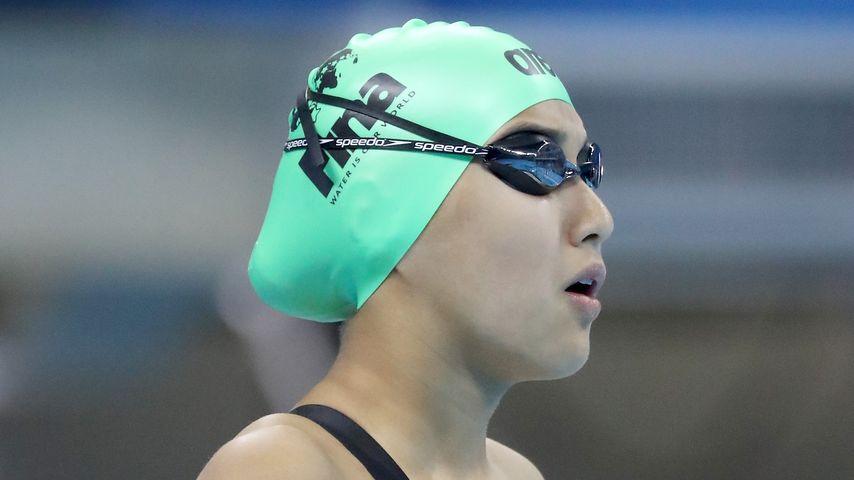Gaurika Singh vor ihrem Wettkampf in Rio