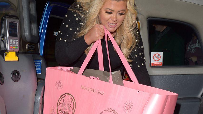 Gemma Collins beim Shopping in London