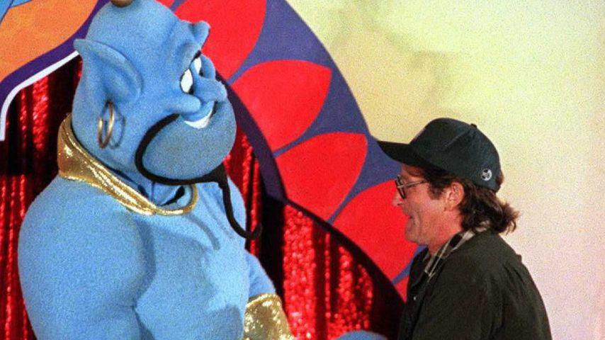 """""""Genie"""" aus Aladdin und Synchronsprecher Robin Williams"""