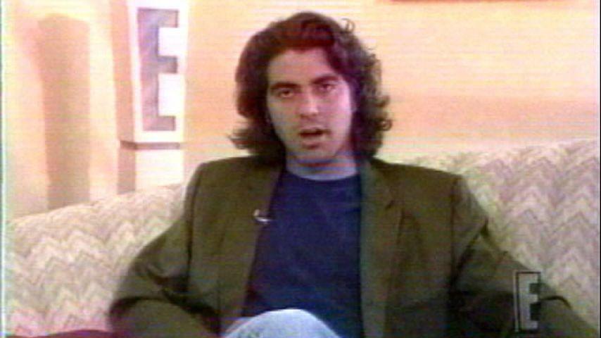 Schauspieler George Clooney in seiner Jugend