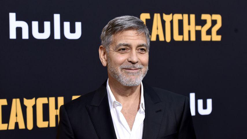 ABC schon in zwei Sprachen: George Clooney stolz auf Twins!