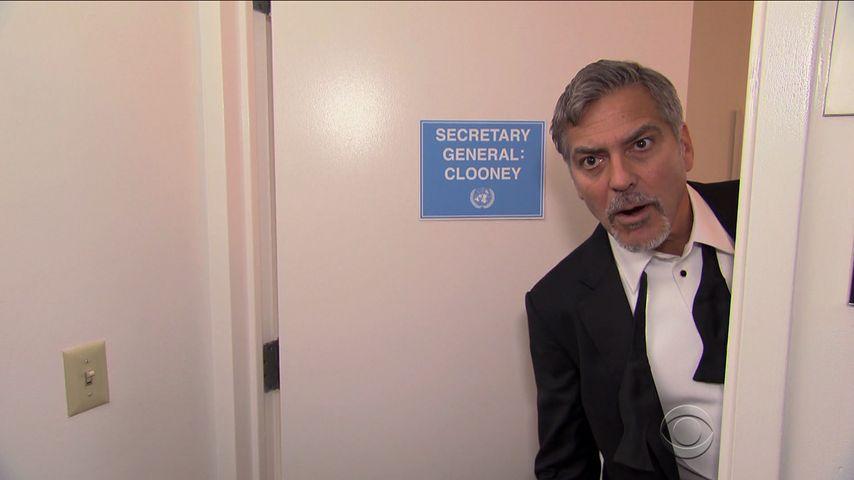 Verrückter Fake-Auftritt: George Clooney erfindet einen Film