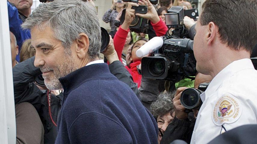 George Clooney bei Demonstration festgenommen!