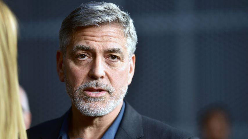 Heftiges Unwetter: George Clooneys Haus versinkt im Matsch