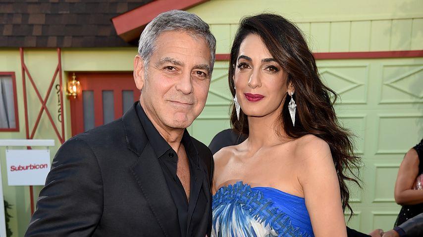 """George und Amal Clooney bei der """"Suburbicon""""-Premiere"""