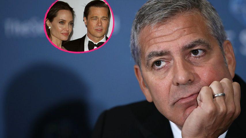 Brangelina-Trennung: George Clooney fiel aus allen Wolken!