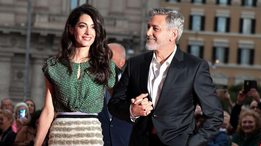 George und Amal Clooney in Rom, Mai 2019