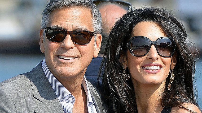 Luxus-Alarm: George & Amal verwöhnten ihre Gäste