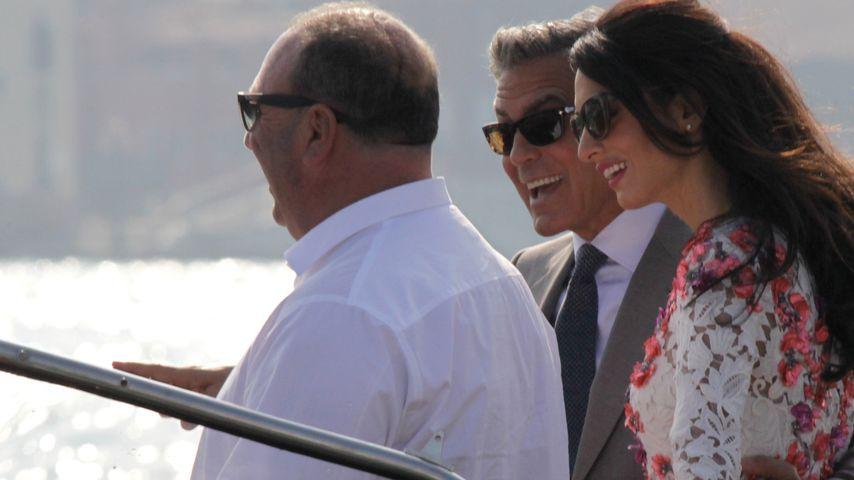 Clooney-Hochzeit: Boots-Fahrer war Trauzeuge