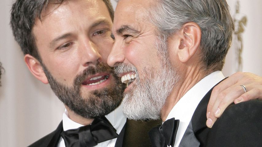 George Clooney & Co. als bärtige Oscar-Stars