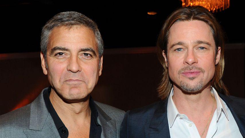 Zoff eskaliert! George Clooney & Brad Pitt sprechen von Hass
