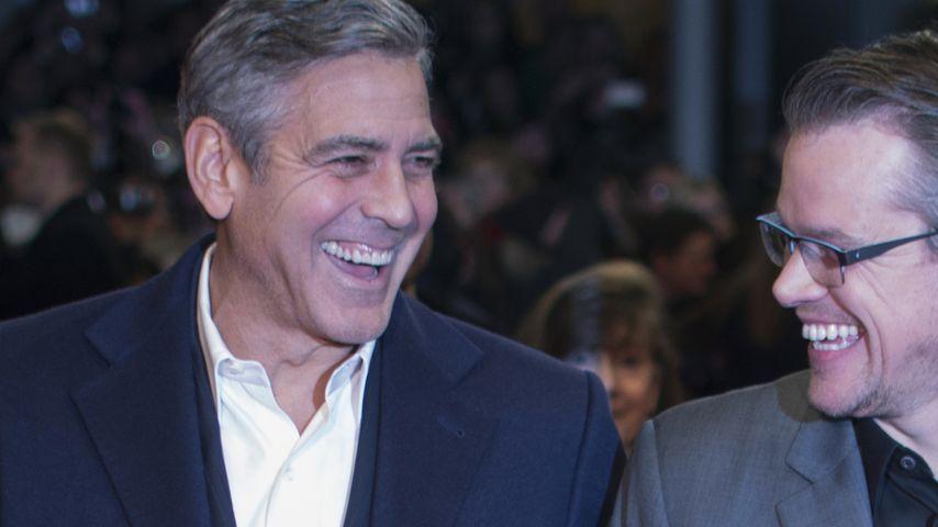 Junggesellenabschied: George Clooney im Strip-Club