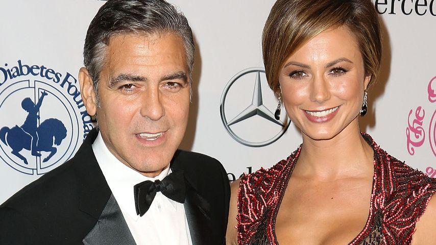 So lernten sich Stacy und George Clooney kennen