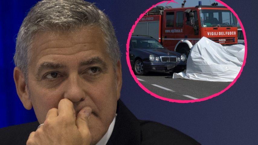 Nach Roller-Crash: Erste Details zu George Clooneys Unfall