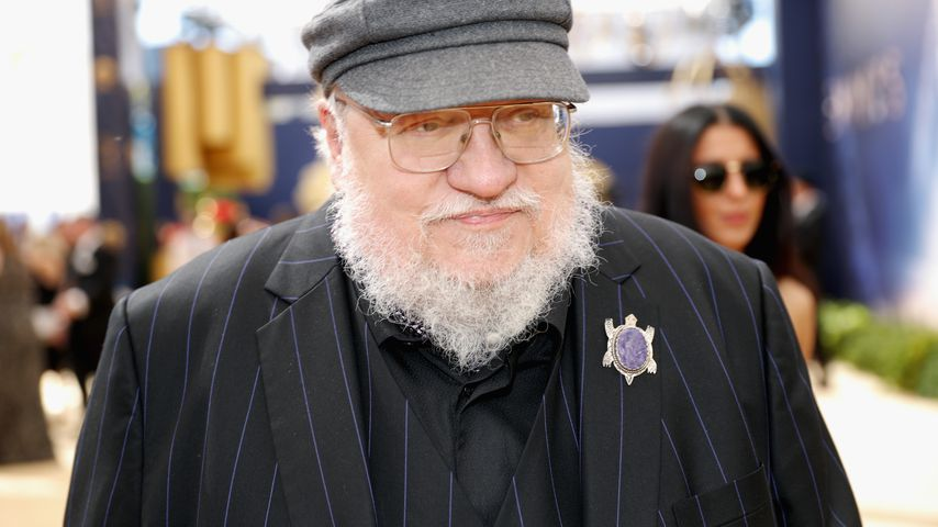 George R.R. Martin bei den Emmys in L.A. im September 2018