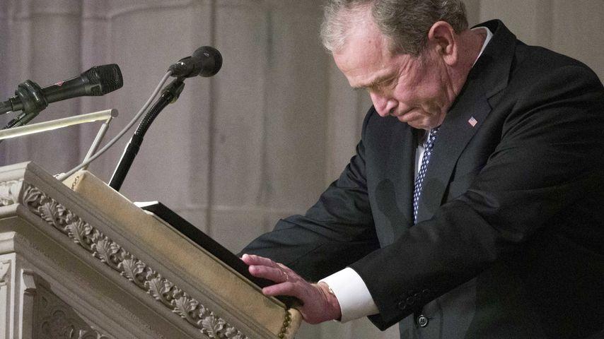 George W. Bush in Washington DC im Dezember 2018