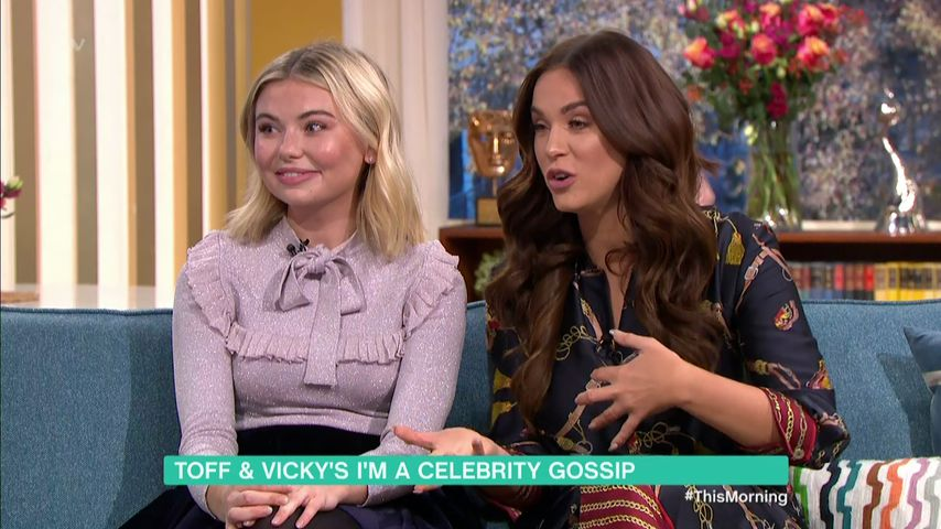 "Georgia Toffolo und Vicky Pattison bei ""This Morning"""