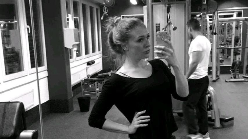Georgina Fleur im Fitness-Studio