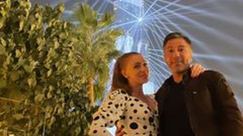 Georgina Fleur und Kubilay Özdemir in Dubai