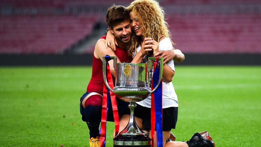 Gerard Piqué und Shakira im Mai 2015