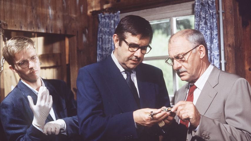 """Gerd Baltus (m.) und Rolf Schimpf (r.) in """"Der Alte"""""""