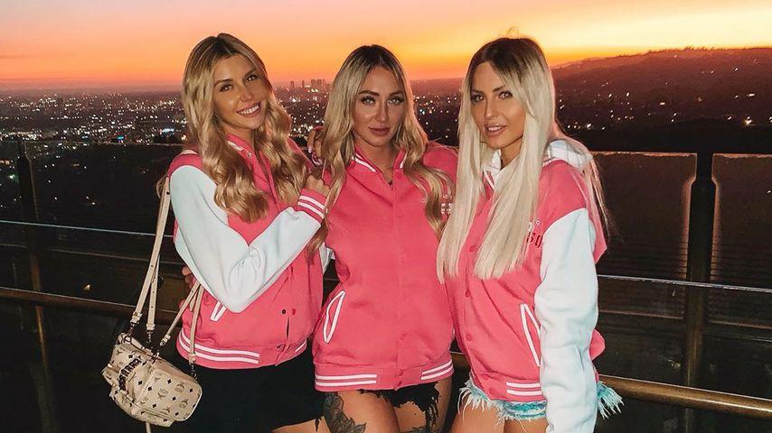Gerda Lewis, Larissa und Doreen in L.A.