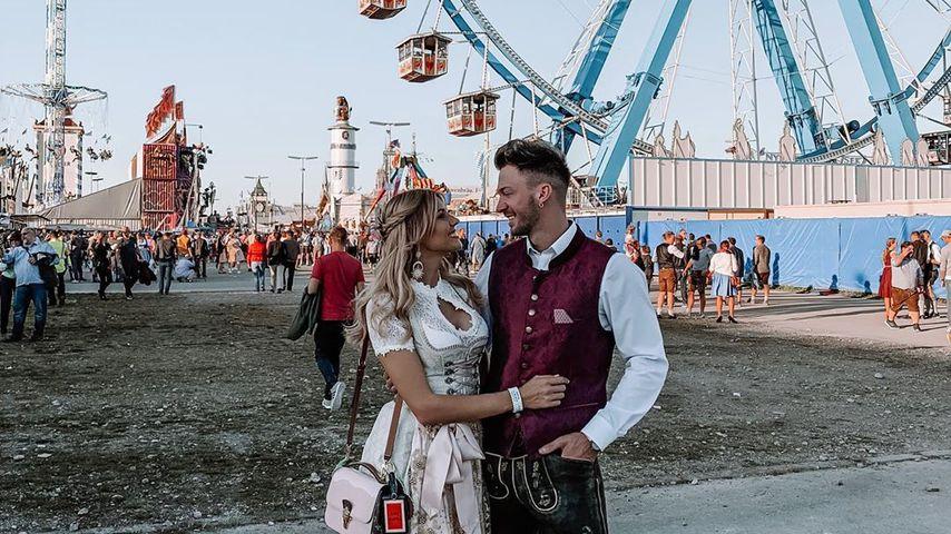 Gerda Lewis und Keno Rüst auf dem Oktoberfest 2019