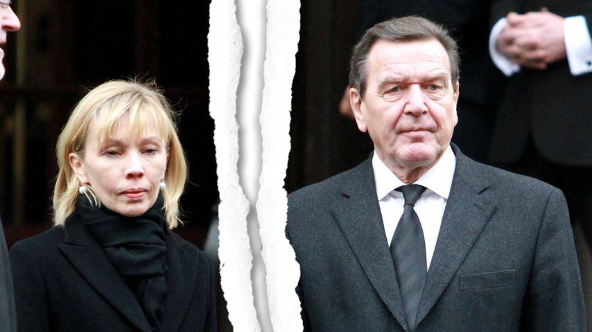 Trennung! Alles aus bei Gerhard Schröder und seiner Doris