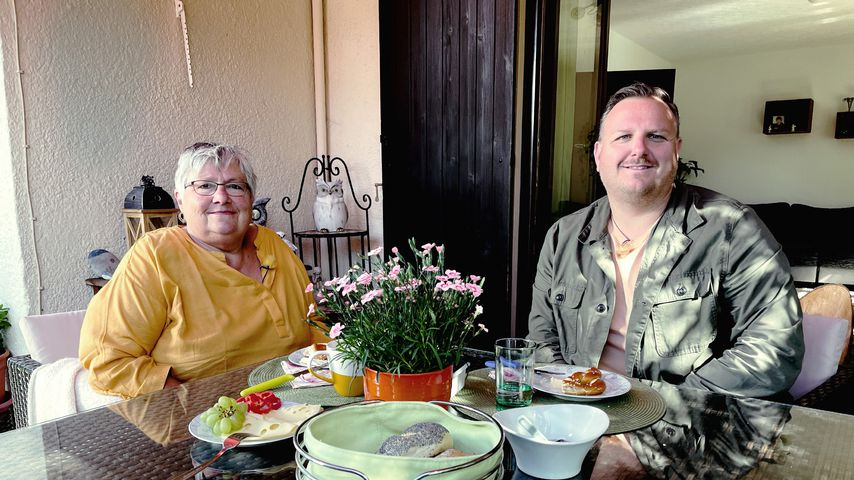 """""""Schwiegertochter gesucht""""-Star Gerhard und seine Mutter Karin"""