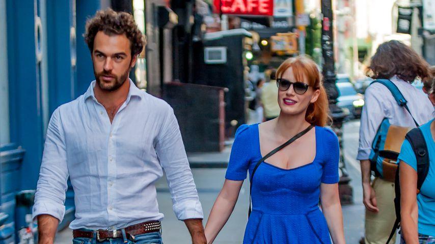 Gian Luca Passi de Preposulo mit Jessica Chastain