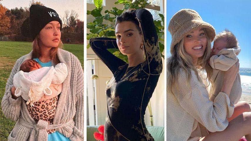 Emily Ratajkowski, Elsa Hosk & Co.: Babyboom bei den Models