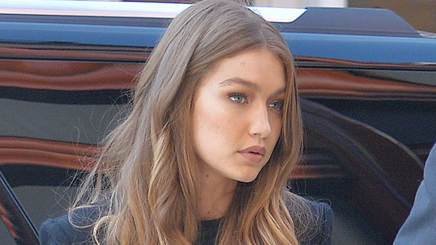 Gigi Hadid, in New York City