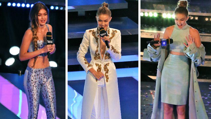 1 Abend, 6 Looks: Gigi Hadid als heiße Awardshow-Gastgeberin