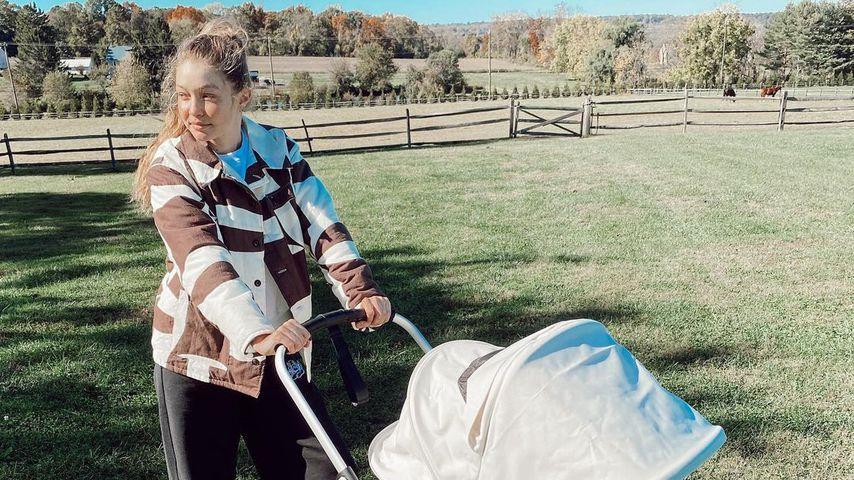 """Gut genug?"": Neu-Mama Gigi Hadid litt unter Angstzuständen"