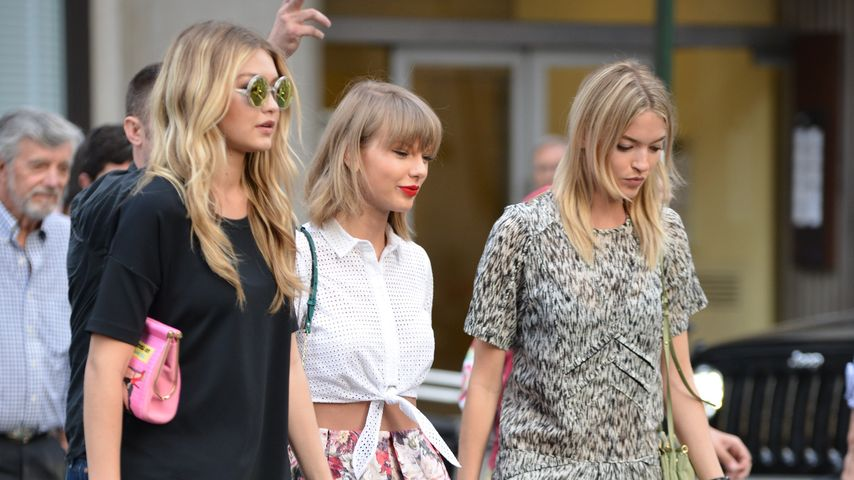 Gigi Hadid und Taylor Swift in New York