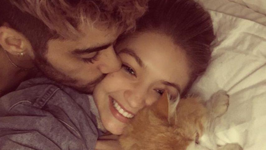 Pillowtalk: So süß kuscheln Zayn Malik und Gigi Hadid!