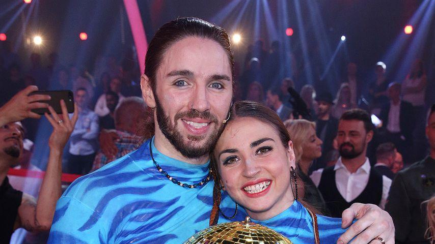 """Gil Ofarim und Ekaterina Leonova im """"Let's Dance""""-Finale 2017"""